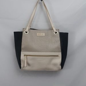 Kenneth Cole Reaction Colorblock Neutrals Tote Bag